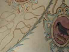 El Blasón KORWIN en la pintura mural
