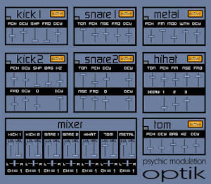 Optik Drum Synth