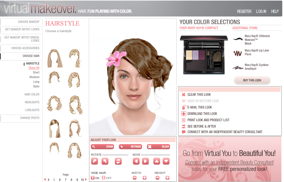 Virtual Makeover Il Truccatore Online