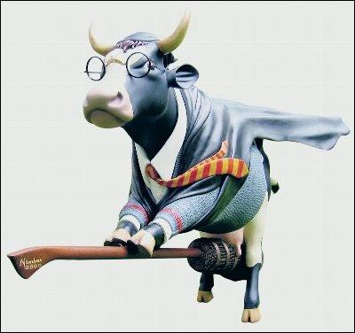 La vaca que lee