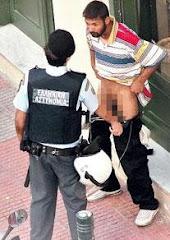 yunan polisinin reziligi