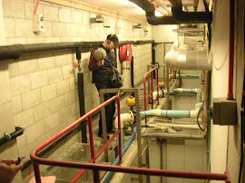 Underground pipeage