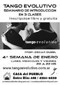 Tango en Enero en la Casa del Pueblo