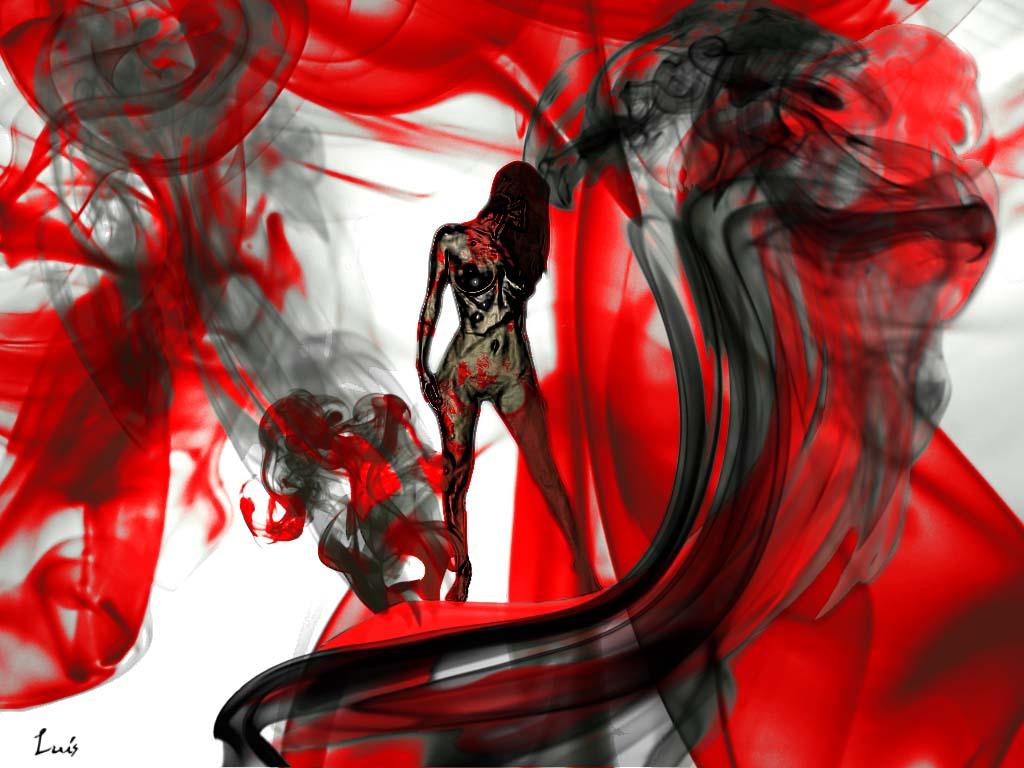 colores rojo y negro: