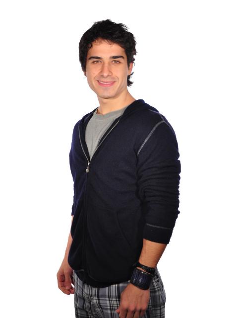 André Arteche interpreta o personagem Julinho Santana na novela Ti-ti-ti
