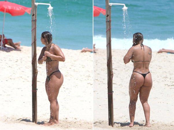 Viviane Ara Jo Vai Praia De Biqu Ni No Rio