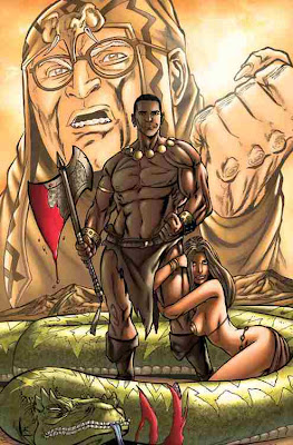 Barack the Barbarian #1