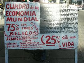 por las calles de Montevideo el 30 de diciembre del 2008