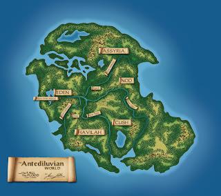 Hazbineldar: Antediluvian Map