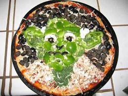 Yoda pizza :D