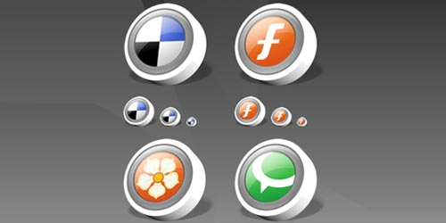 Social ICONS Bookmark