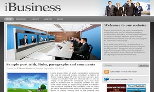 iBusiness Blogger Template