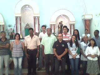 POSSE DOS NOVOS COORDENADORES RCC MANHUAÇU E FORANIA, 23/01/11 IGREJA SANTO ANTONIO