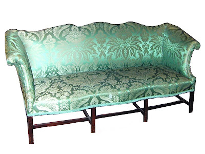 ... if youu0027re offered the Chippendale sofa shown below for less than  $100,000 USD, then you know itu0027s in
