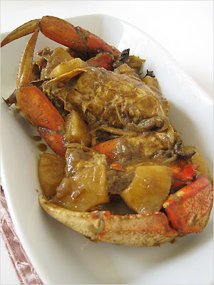 crab curry pineapple