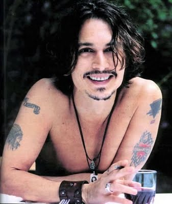 This week I decided to go with Johnny Depp. I have had a crush on his since