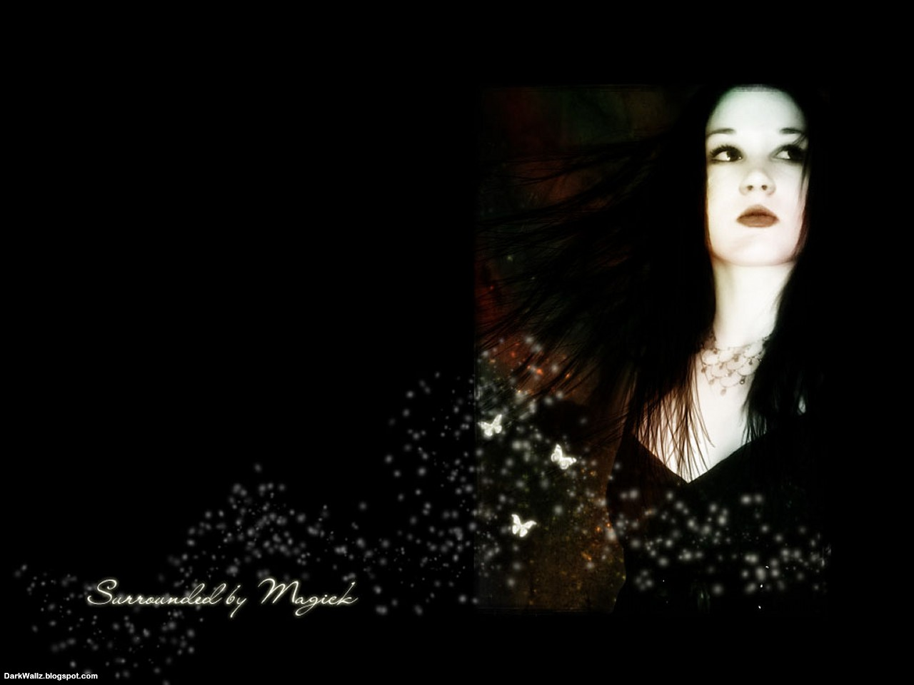Surrounded by magic | Dark Wallpaper Download