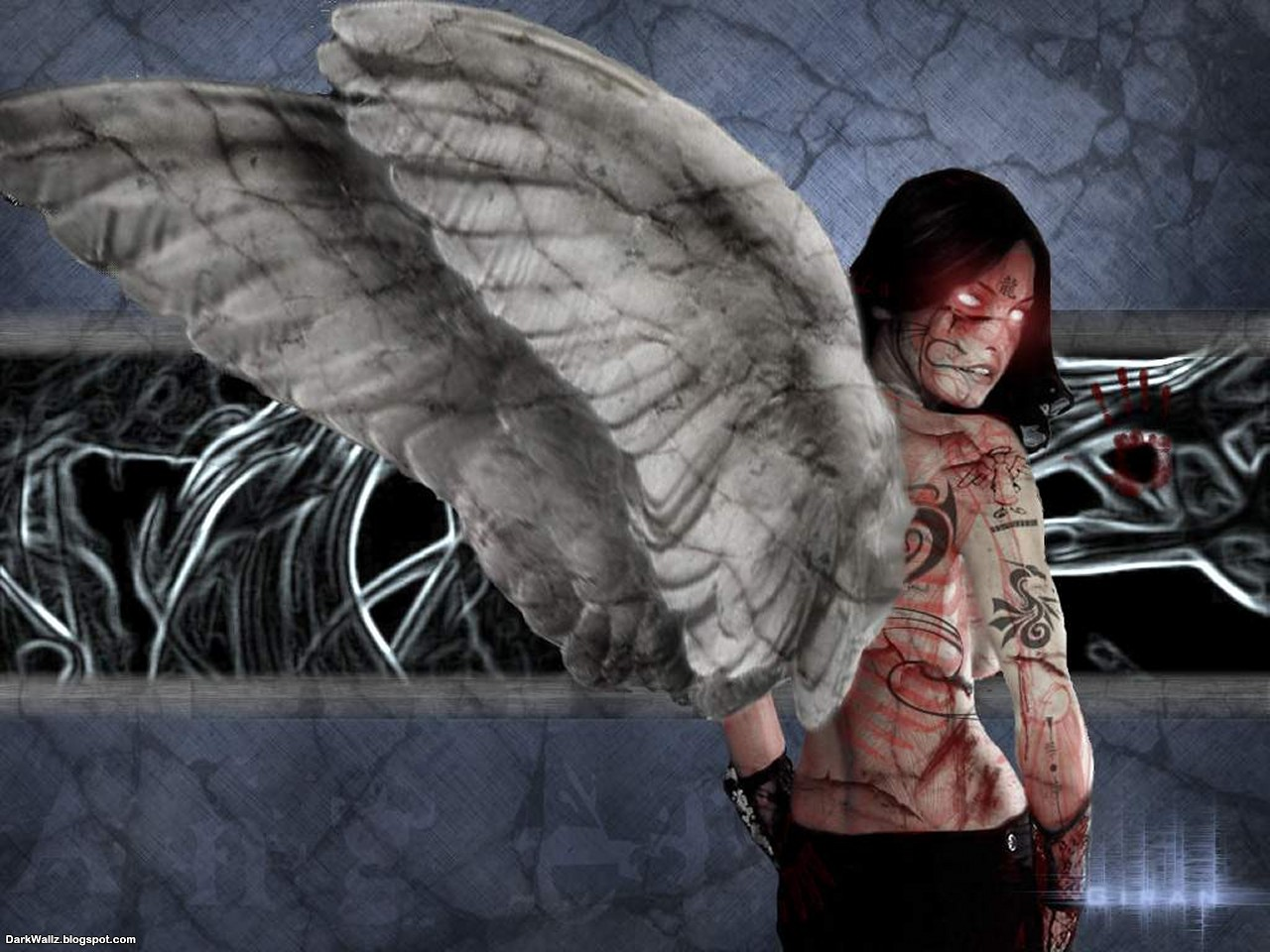 Fallen Angel 1 | Dark Wallpaper Download