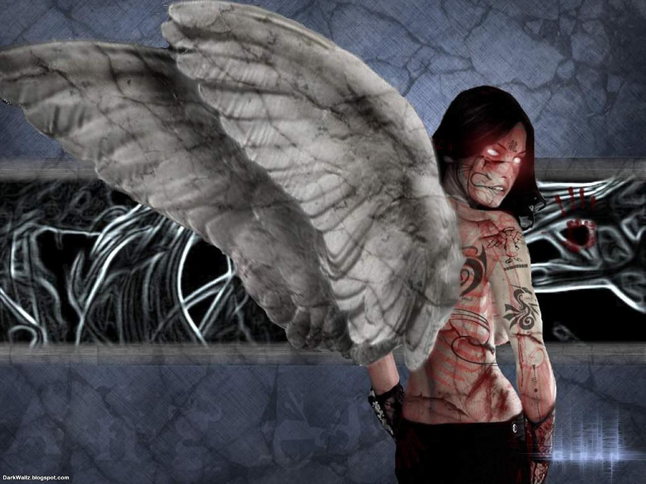 Fallen Angel 1 | Dark Wallpaper Download