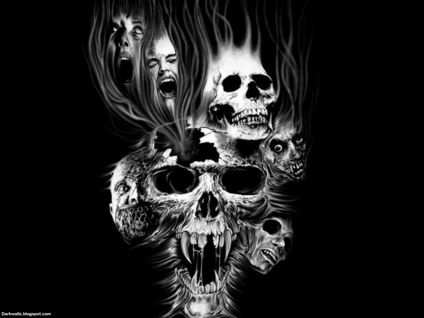 Skulls Wallpapers 63 | Dark Wallpaper Download