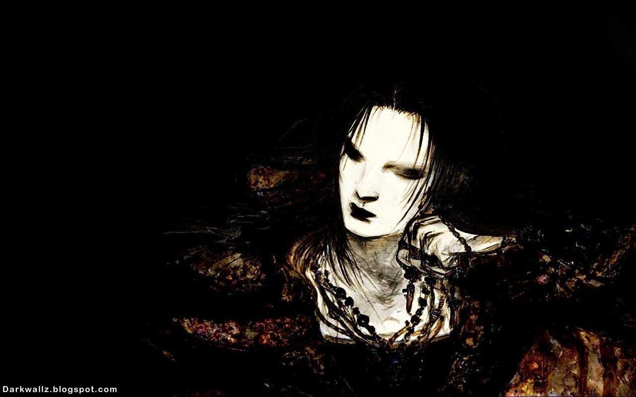 Dark Evil Girl Art   Dark Wallpaper Download