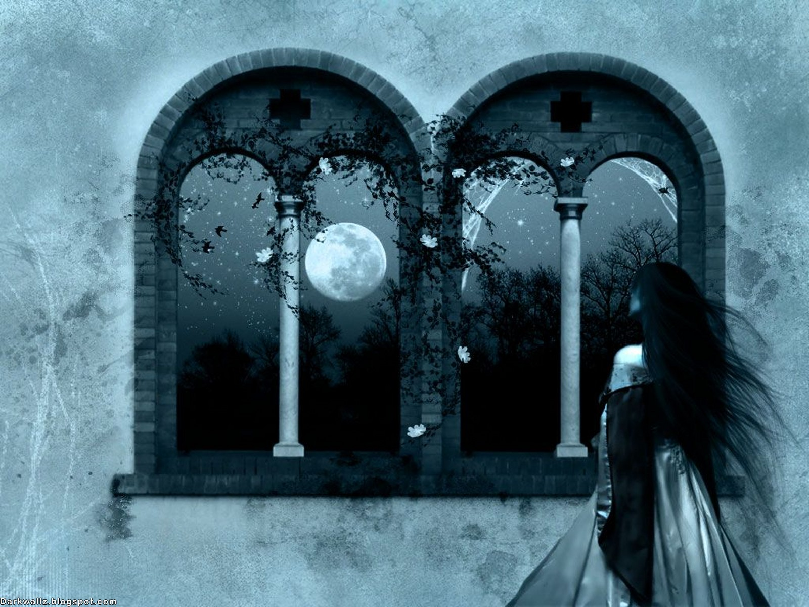 Dark Girls Wallpapers 03 (darkwallz