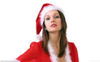 Sexy Christmas Girls HD Wallpapers