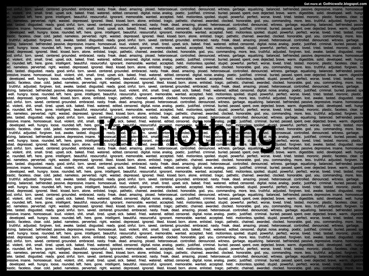 Gothic Wallpapers: im-nothing