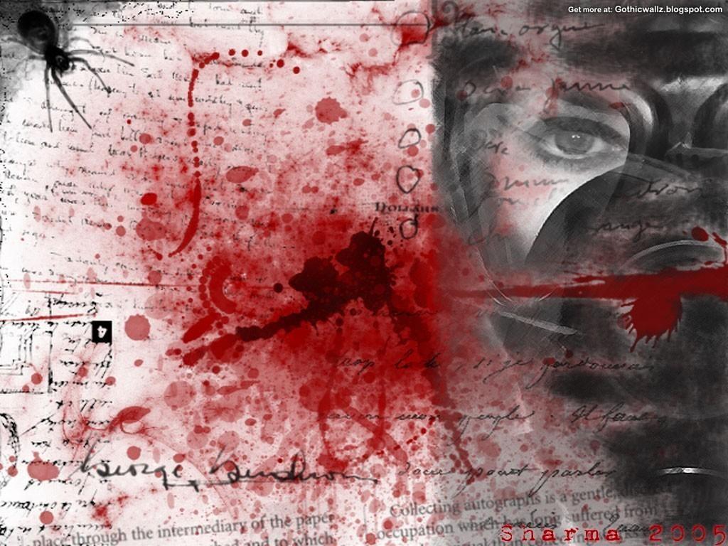 Full Wallpaper Preview: Splattered-Blood