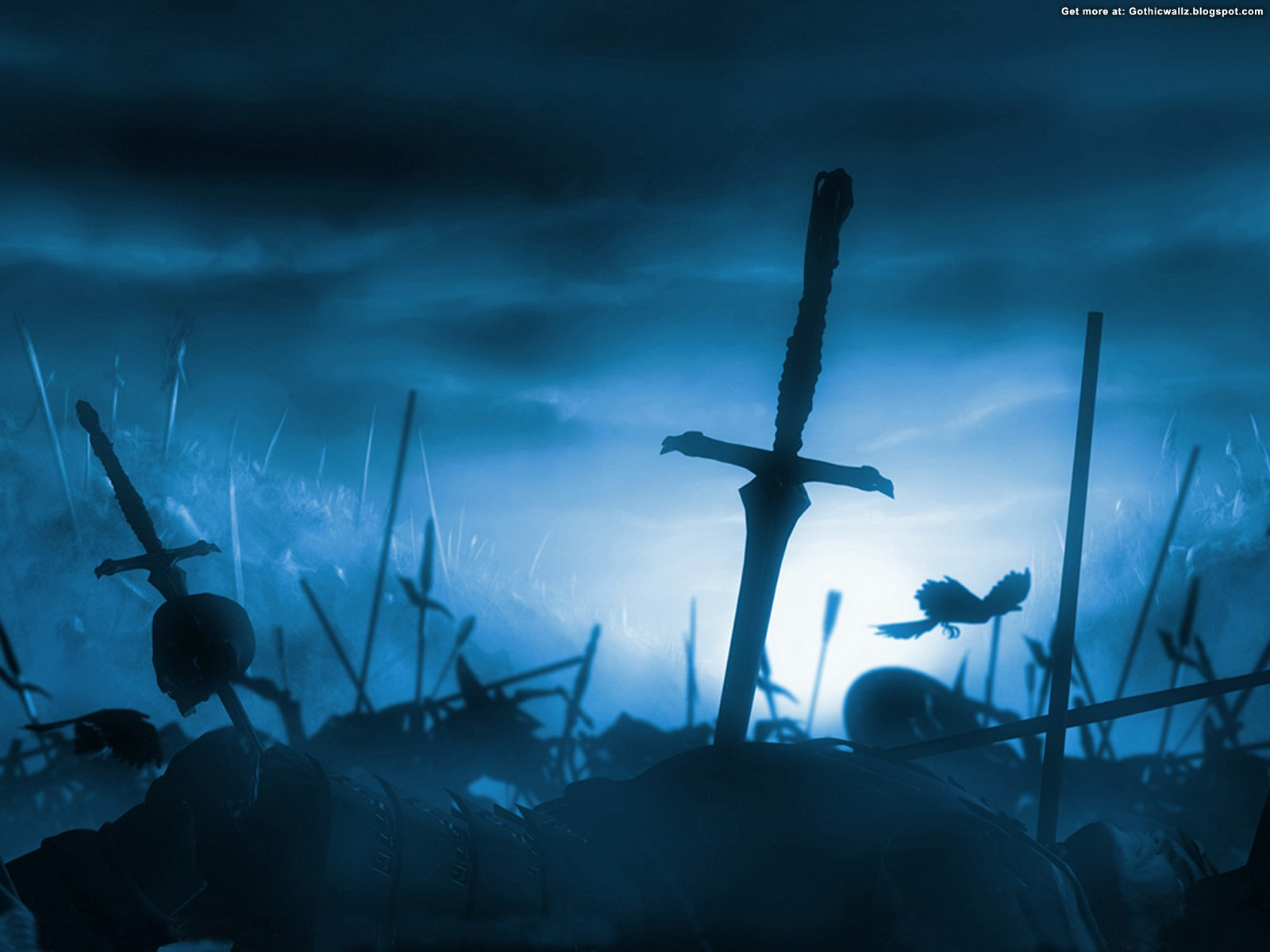 battleground | Gothic Wallpaper Download