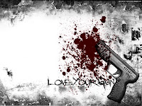 Guns and Blood | Dark Gothic Wallpapers
