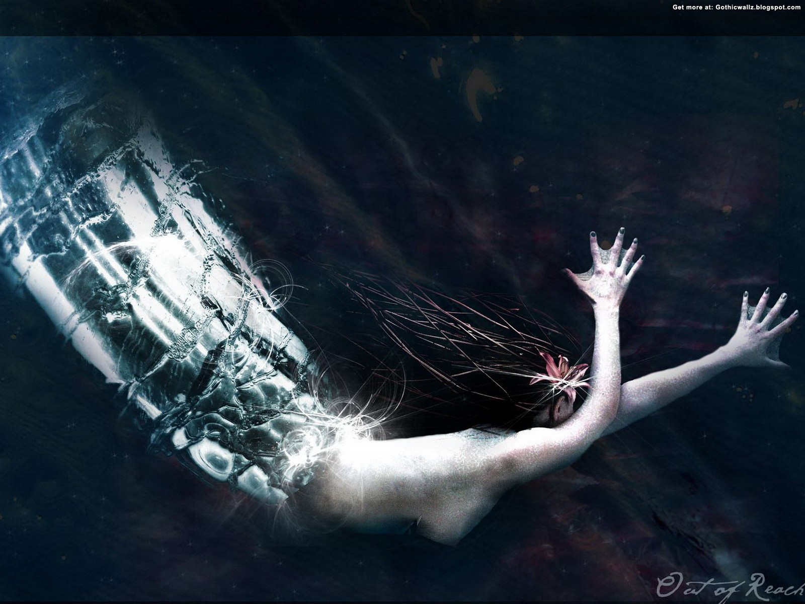 Out of Reach | Gothic Wallpaper Download