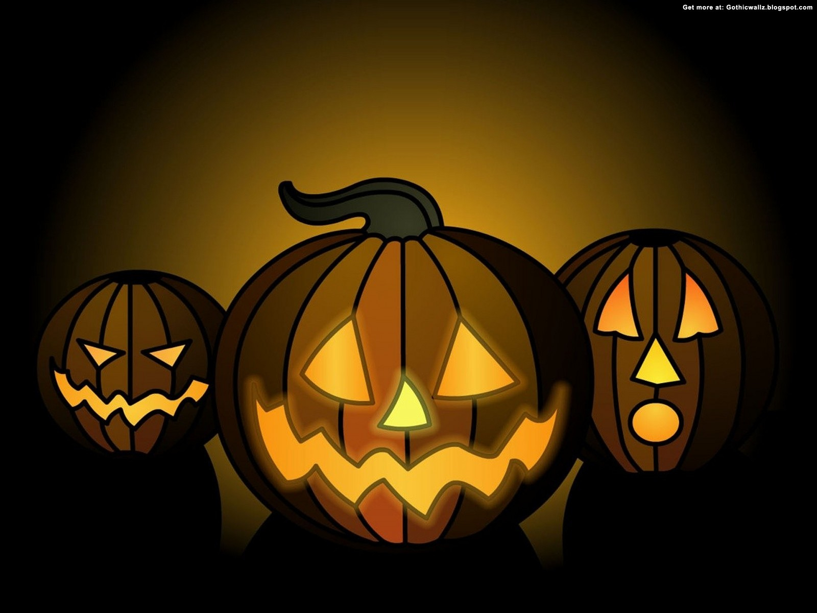 halloween pumpkins faces | Gothic Wallpaper Download