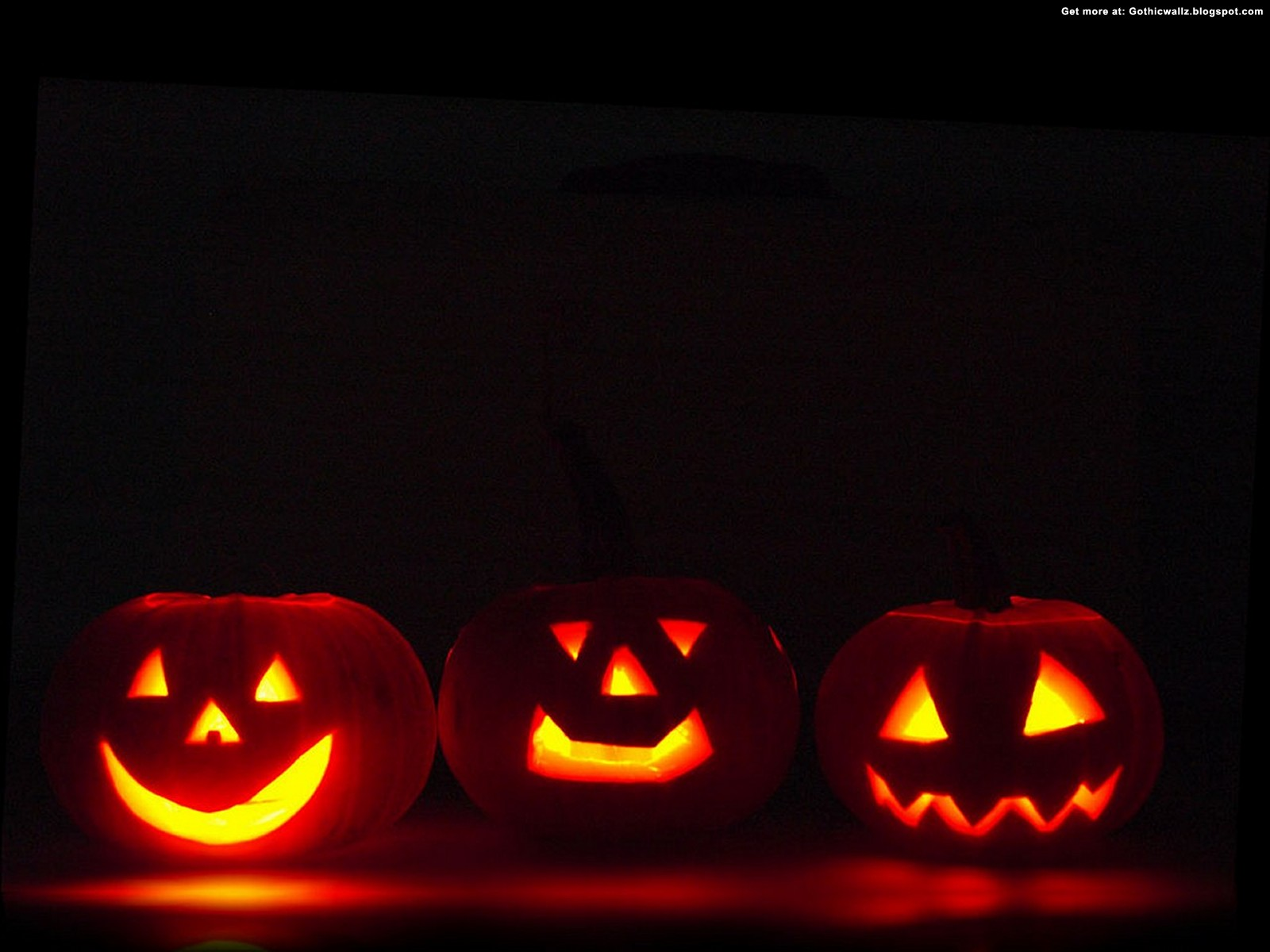 halloween pumpkin smilies | Gothic Wallpaper Download