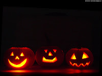 halloween pumpkin smilies | Dark Gothic Wallpapers