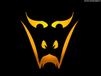 simple halloween smile | Dark Gothic Wallpapers