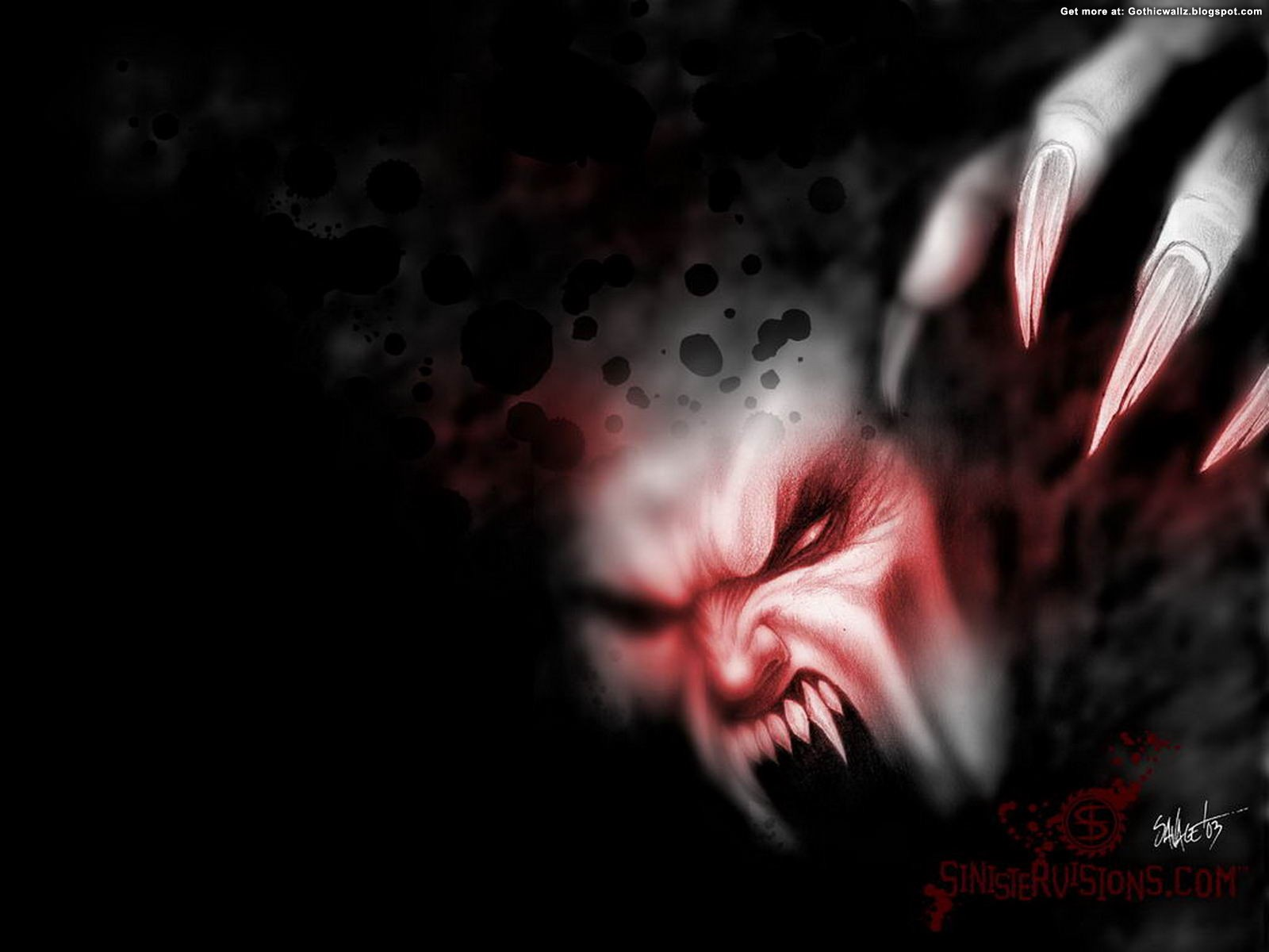 Poze Horror Blood Crime | Gothic Wallpaper Download
