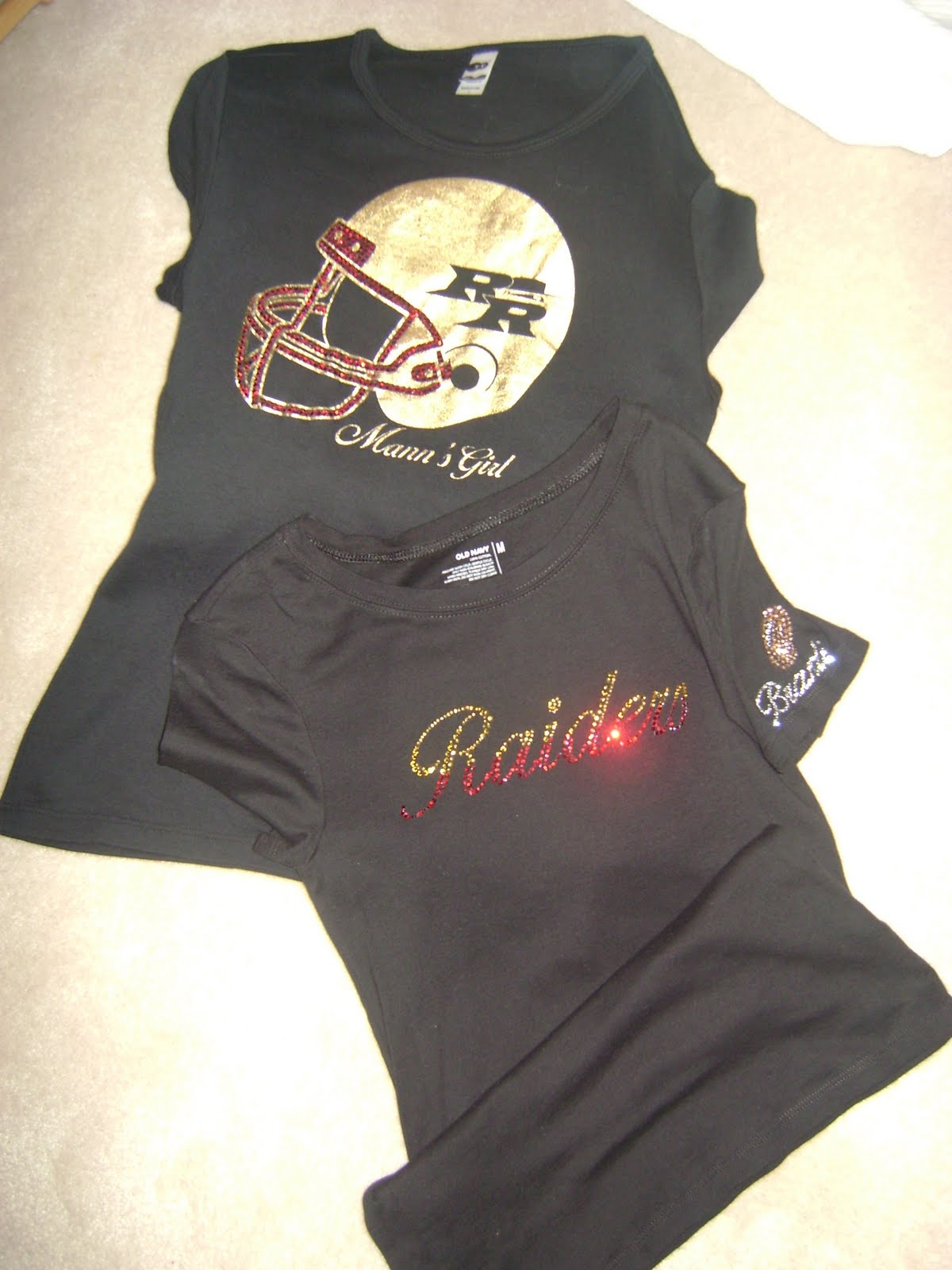Coaches Wives Spirit Wear Sparkle In The Stands With Bling