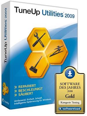 TuneUp Utilities 2009 Vs. 8.0.1100.43 + Serial 78927242 5B1 5D