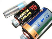 Batteriebehältnisse - Batterieadapter