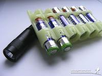 Battery Caddy Batteriebehälter - Batterie / Akku Aufbewahrung