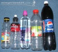 PET Trinkflaschen