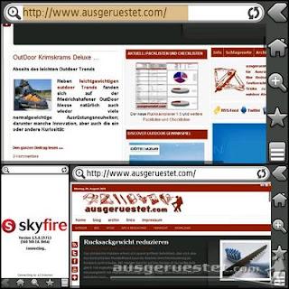 Skyfire für Symbian