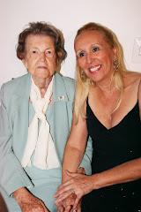 Tia Mulata(93 anos) e eu