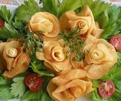 como usar batatas na decoração de seus pratos