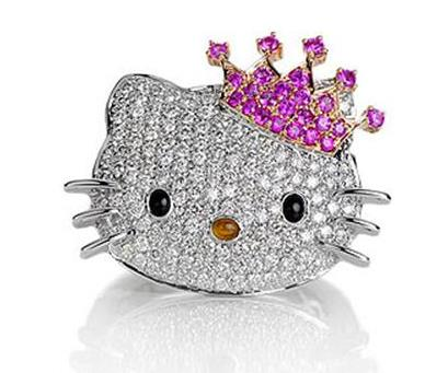hello kitty brillos