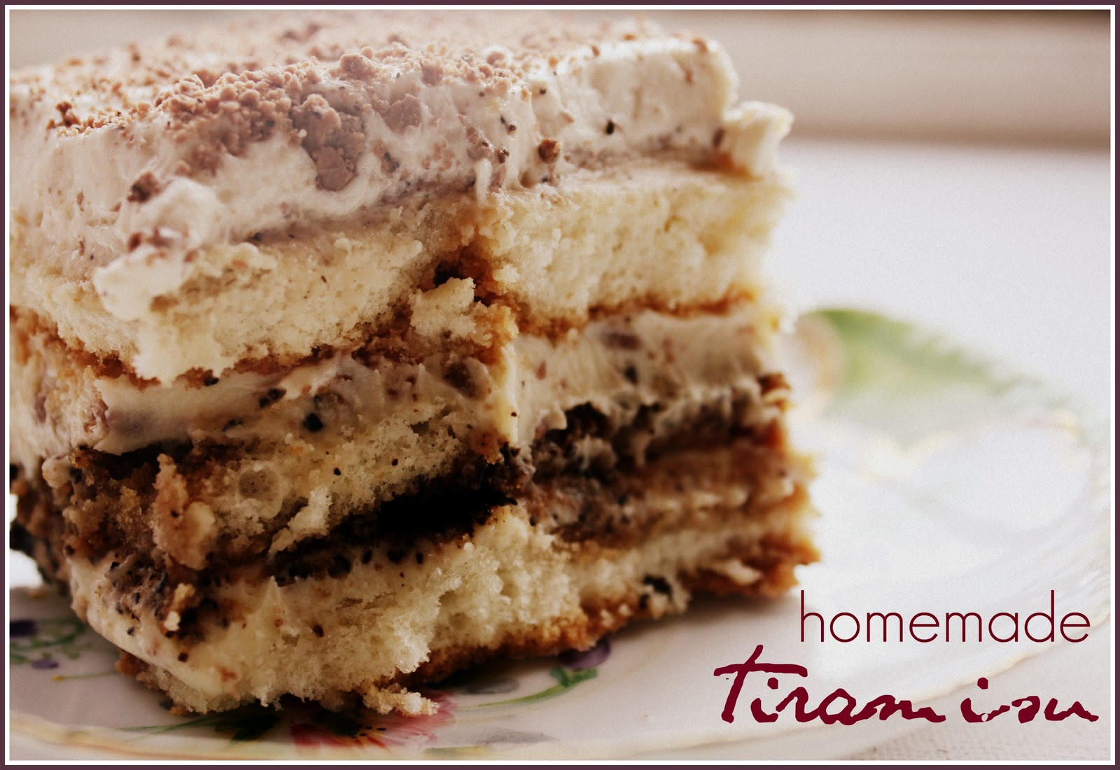 tiramisu from  scratch scratch wonder! an from Tiramisu HUNGRYHIPPIE Italian