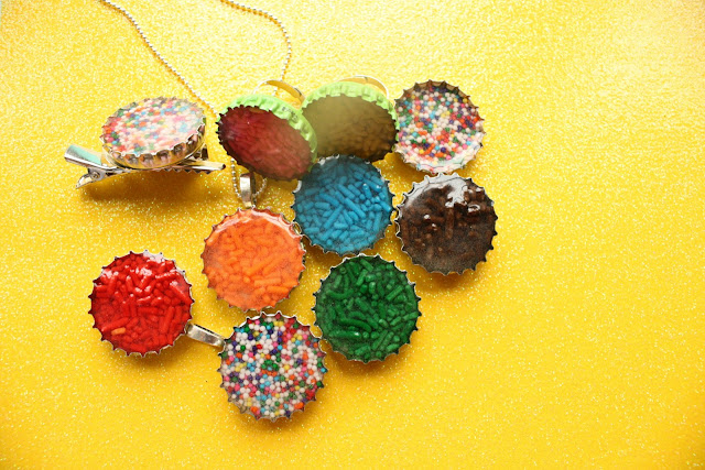 Candy filled rings