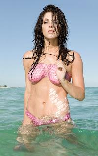 Ashley Greene's Nude in Body Paint
