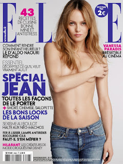 Vanessa Paradis Does Elle France
